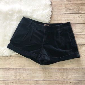 Juicy Couture | Velvet Pleated Shorts